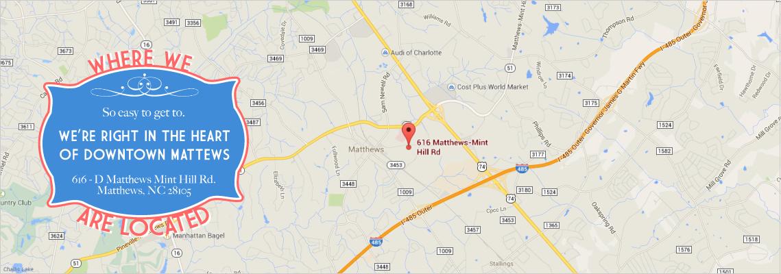 Matthews Massage And Wellness Location